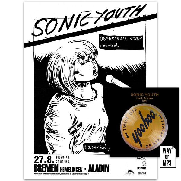 Live in Bremen Poster + Download Bundle