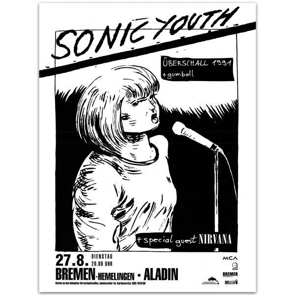 Live in Bremen Poster