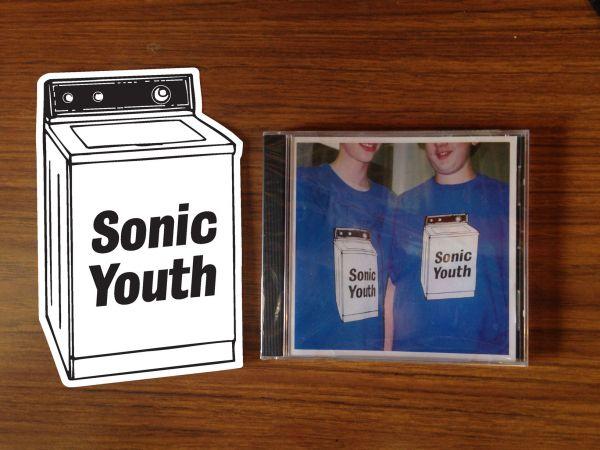 Sonic Youth Washing Machine Sticker