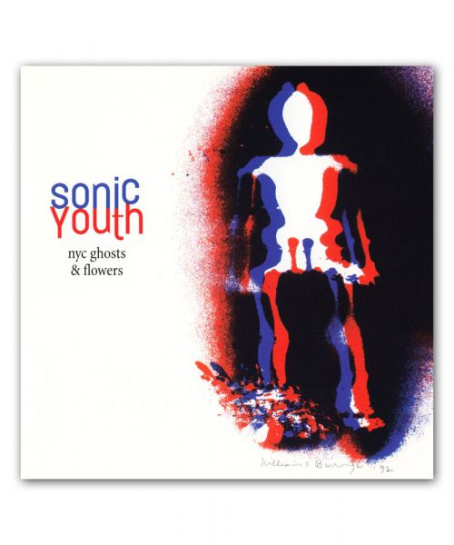 Sonic Youth NYC Ghosts & Flowers REISSUE Vinyl LP